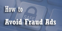 Avoid fraud ads
